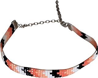 Sansar India Bijoux Tattoo Punk Choker Necklace for Girls and Women