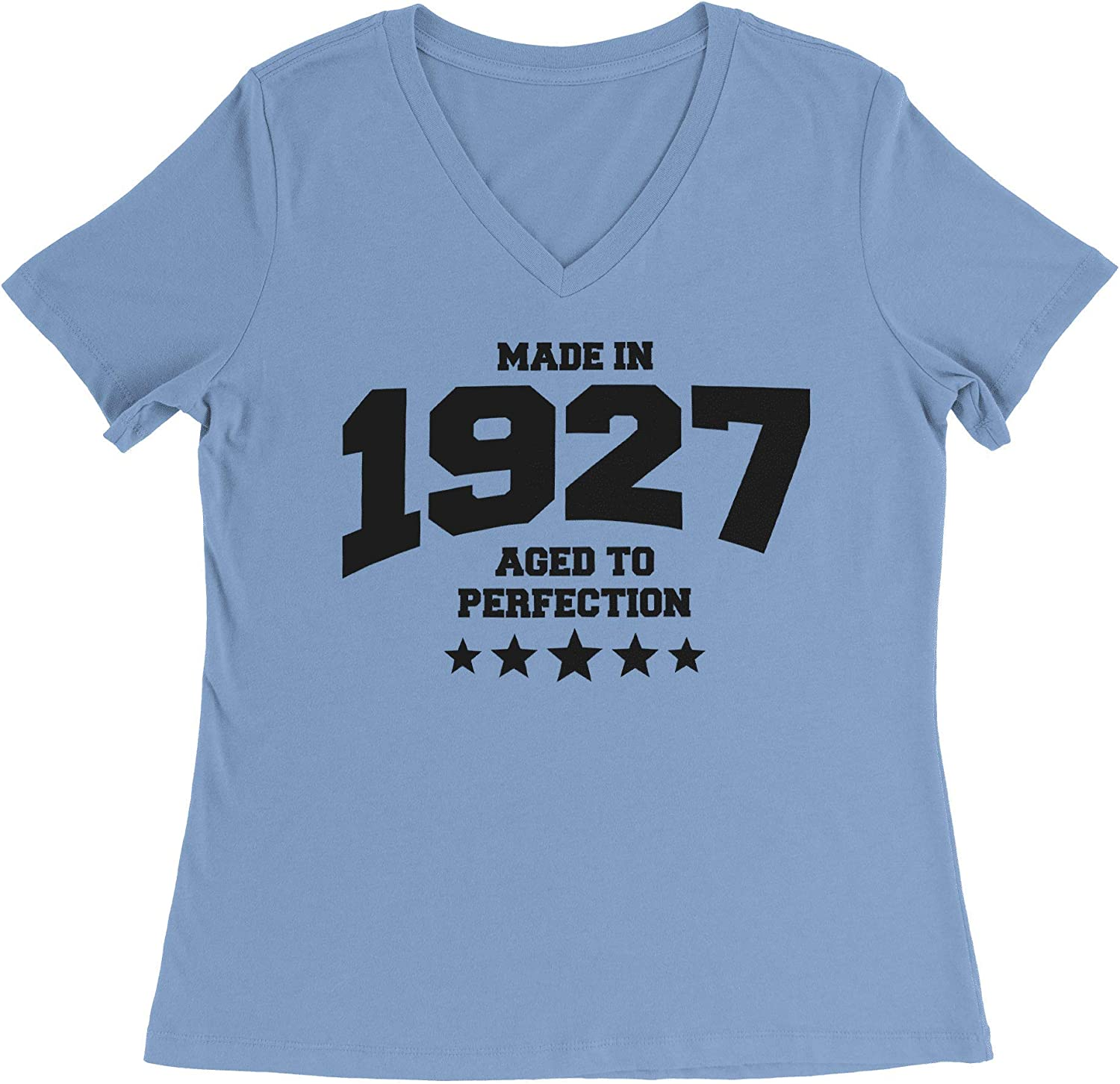 HARD EDGE DESIGN Women's Athletic Aged to Perfection - 1927 T-Shirt