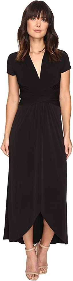 MICHAEL Michael Kors - Short Sleeve Maxi Wrap Dress