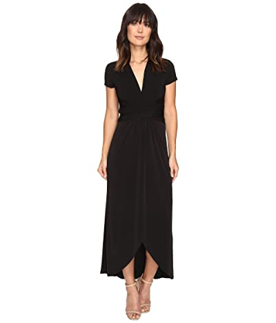 MICHAEL Michael Kors Short Sleeve Maxi Wrap Dress Women