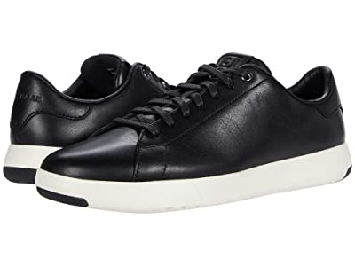 Cole Haan GrandPro Tennis Sneaker (Black/Black/White) Men