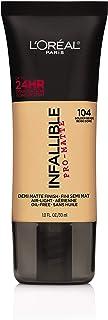 L'Oreal Paris Cosmetics Infallible Pro-Matte Foundation Makeup, Golden Beige, 1 Fluid Ounce by L'Oreal Paris