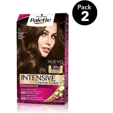 Palette Intense - Tono 5 Castaño Claro - 2 uds - Coloración ...
