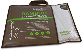 Bubba Blue Bamboo Basinet Pillow and Pillow Case, White