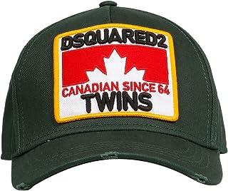DSQUARED2 Mens BCM016005C000018062 Green Cotton Hat