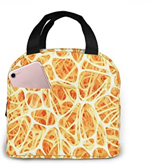 Insulated Lunch Bag Cooler Tote Bag Luch Box Lunch Container Lunch Organizer, Tissue Body Bone Structure Marrow Lunch Holder for Woman Man Work Pinic or Travel