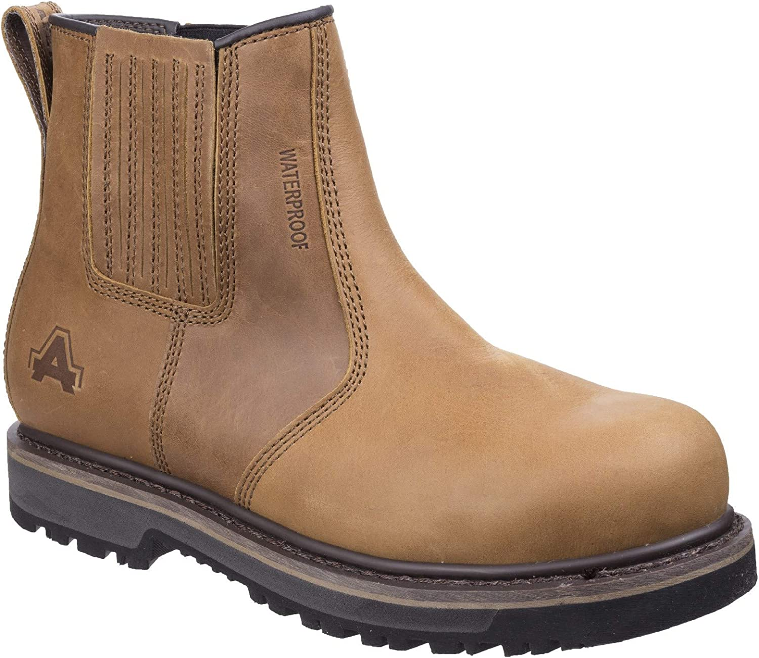 Amblers Safety Mens AS232 Safety Boot Tan Size UK 6 EU 39