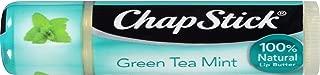 Chapstick 100% Natural Lip Butter Individual Sticks, Green Tea Mint, 0.15 Oz