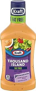 Kraft Fat Free Thousand Island Dressing (16 oz Bottle)