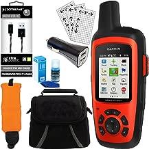 ArtMuseKitsMikash Garmin inReach Explorer+ GPS Bundle w/Car Charger, Micro USB, Gadget Bag and More