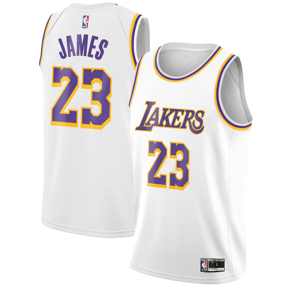 Buy Outerstuff Youth Kids 23 LeBron James Los Angeles Lakers ...
