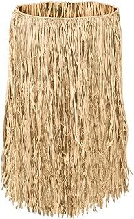 Islander Hula Grass Skirt Natural 28 inch Waist 26 inch Length