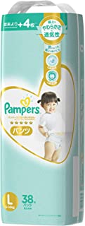 Pampers Premium Care Pants Diapers L, 38 count