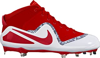 Nike Men's Force Zoom Trout 4 Baseball Cleat University Red/White Size 9.5 M US