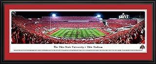 Ohio State Football - Band Script - Blakeway Panoramas Print