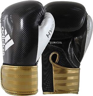 Luva de Boxe Adidas Hybrid 65 Preto/Dourada
