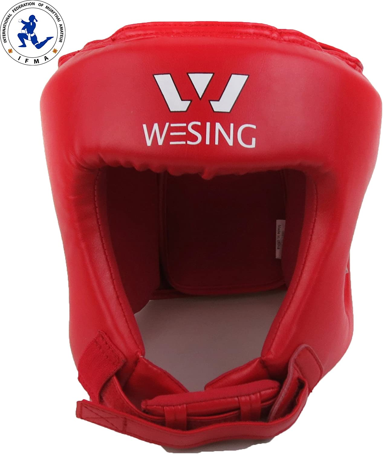 Professional IMFA Approved Muay Thai Competition Headguard by Wesing