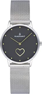 Radiant heart Womens Analog Quartz Watch with Stainless Steel bracelet RA540604