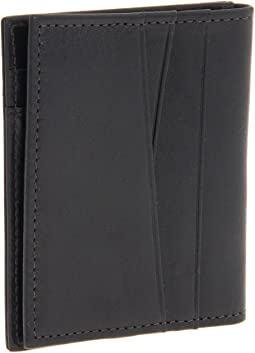 Bosca - Nappa Vitello Collection - Front Pocket Wallet w/ Magnetic Clip