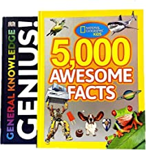 General Knowledge Genius & 5000 Awesome Facts - Combo Pack