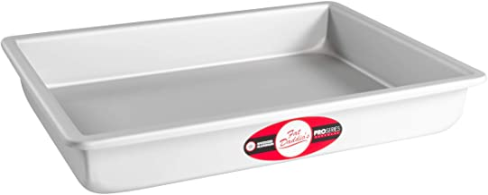 Fat Daddio's POB-9132 Sheet Cake Pan, 9 x 13 x 2 Inch, Silver