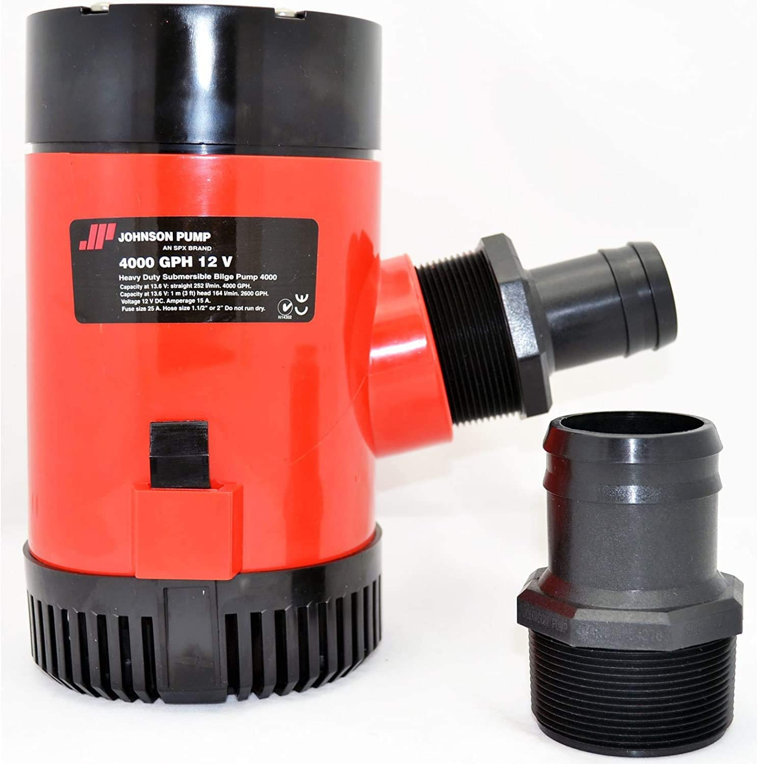 Johnson Pumps 40004 4000 GPH 12V Outlet ☆ Free Shipping Pack Cheap mail order sales of 1 Bilge Pump