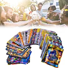 Feel-ling Playing Cards Toys Pokémon Cards Flash Card Games for Kids,Fun Family Games,30 Team Up+50 Mega+20 Trainer+20 Ultra Beast GX Kindly Portable Appealing