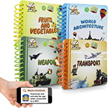 ANSIO Animation Augmented Reality 4D Book - Learn with Fun & Technology Helps improving Reading, Listening & Speaking Skil...