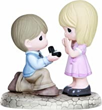 Precious Moments, Will You Marry Me?, Bisque Porcelain Figurine, 133022