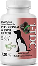 1-TDC پشتیبانی طبیعی دوگانه - پیچاندن ژل های نرم   4 مزایای عمده سلامتی برای سگ ها و گربه ها ارائه می دهد   از سلامت دهان و دندان ، سلامت مفصل ران ، مفصل ران ، ریکاوری عضلات و استقامت ، سلامت پوست و پالت پشتیبانی می کند