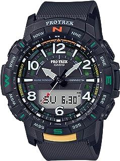 ساعة كاسيو بروترك للرجال كواترز انالوج بعقارب رقمية بسوار - PRT-B50-1DR