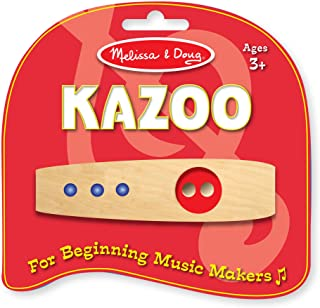 Melissa & Doug Makin' Music Beginner Wooden Kazoo
