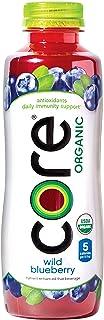 CORE Organic, Blueberry, 18 Fl Oz (Pack of 12), Fruit Infused Beverage, Vegan/Gluten-Free, Non-GMO, Refreshing Flavored Wa...