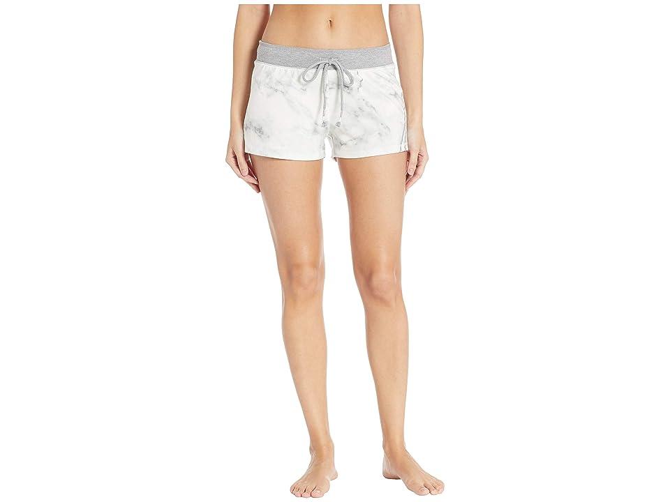 P.J. Salvage Marble Lounge Shorts (Ivory) Women