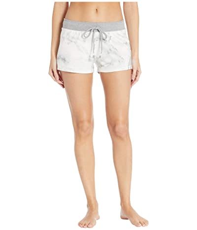 P.J. Salvage Marble Lounge Shorts (Ivory) Women