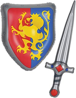 [Beistle]Beistle Inflatable Sword & Shield Set Party Accessory 57883 [並行輸入品]