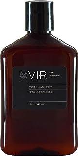 Sponsored Ad - VIR Men's Natural Daily Hydrating Shampoo (12 fl oz) - Hydrating, Thickening, Color Safe, Vegan, Cruelty Fr...