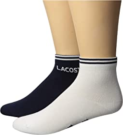 Ped Sock w/ Lacoste Word At Ankle