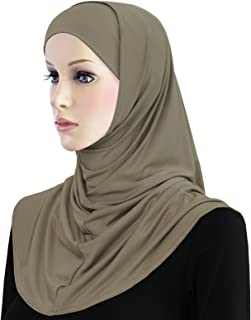 Amira Hijab 2 Piece Lycra Head Scarf for Women