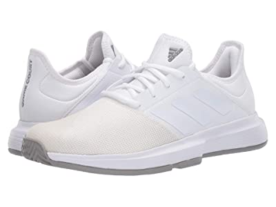 adidas GameCourt (Footwear White/Footwear White/Dove Grey) Men