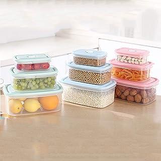 Conteneurs De Stockage En Plastique Réutilisables, Ensemble De Conteneurs De Stockage Des Aliments Hermétiques, Pour L'org...