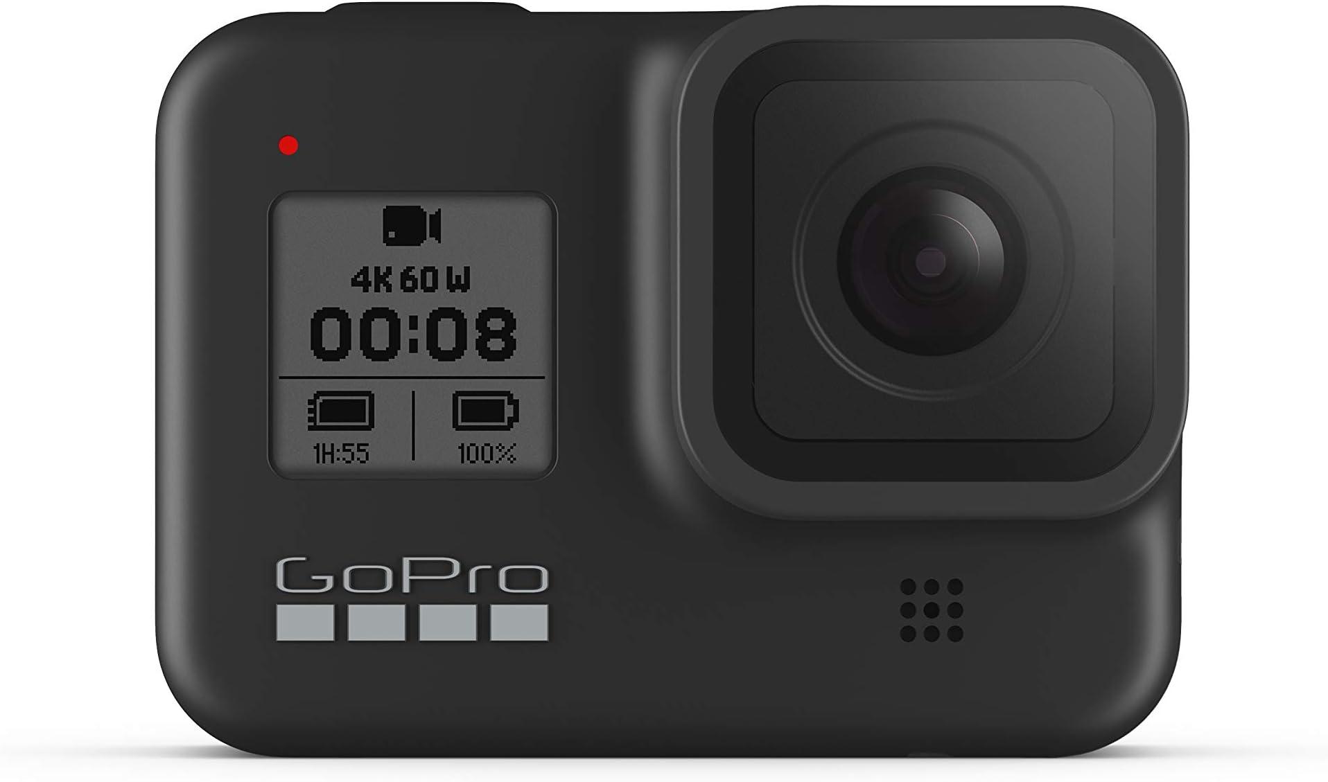 GoPro HERO8 Black 4K Waterproof Action Camera - Black (Renewed)