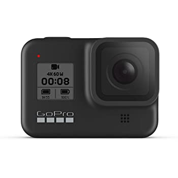 GoPro HERO8 Black 4K Waterproof Action Camera - Black (Renewed)