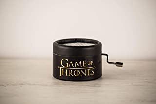 Caja musical Juego de Tronos con la melodía de la intro. GOT Game of Thrones. Packaging para regalo.