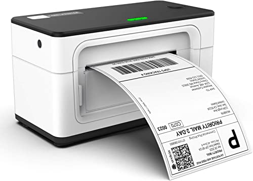 MUNBYN Thermal Label Printer 4x6, High-Speed 150mm/s Direct USB Thermal Barcode 4×6 Shipping Label Printer Maker Writ...