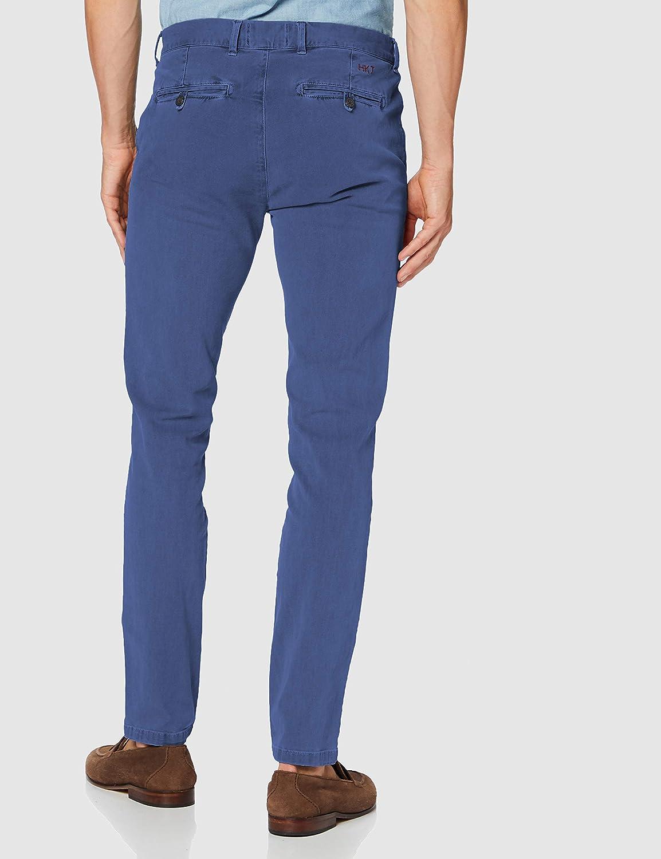 HKT by Hackett Hkt G//Dye Strch Chino Pantalones para Hombre