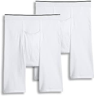 Jockey Men's Underwear Big Man Pouch Midway Brief - 2 Pack