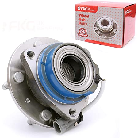 Replacement Parts LONGKEES 2x Rear Wheel Hub & Bearing Assembly ...