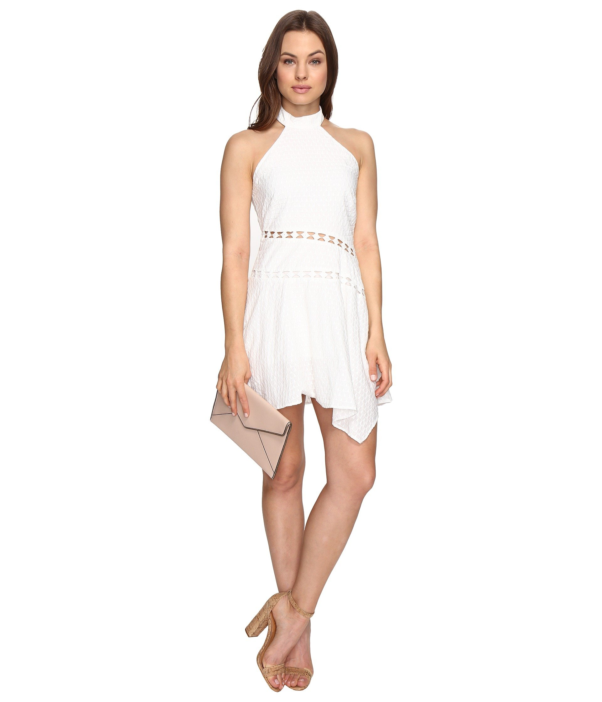 STYLESTALKER Ava Mini Dress in Blanc
