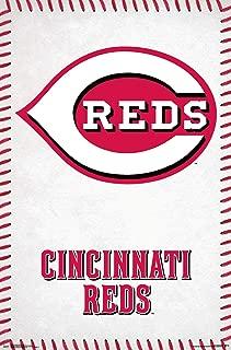 Trends International MLB Cincinnati Reds - Logo Wall Poster, 22.375
